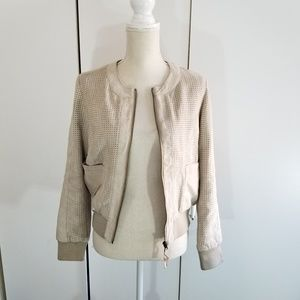 Anthro hei hei size S perforated jacket